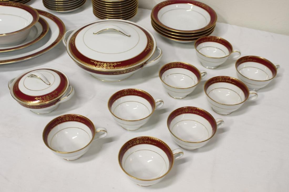 Large Noritake china set - 6