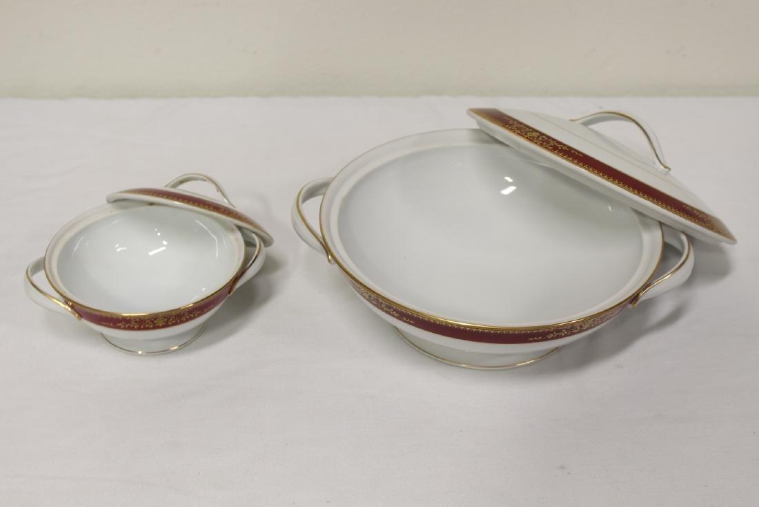 Large Noritake china set - 7