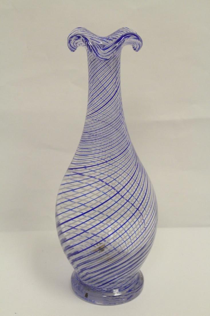 A beautiful Venetian crystal vase - 3