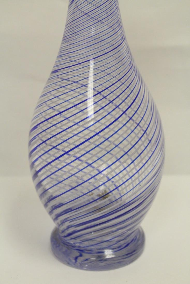 A beautiful Venetian crystal vase - 6