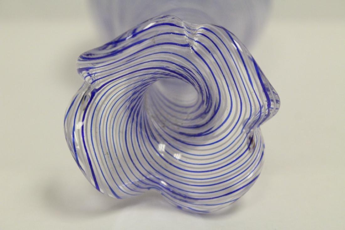 A beautiful Venetian crystal vase - 9