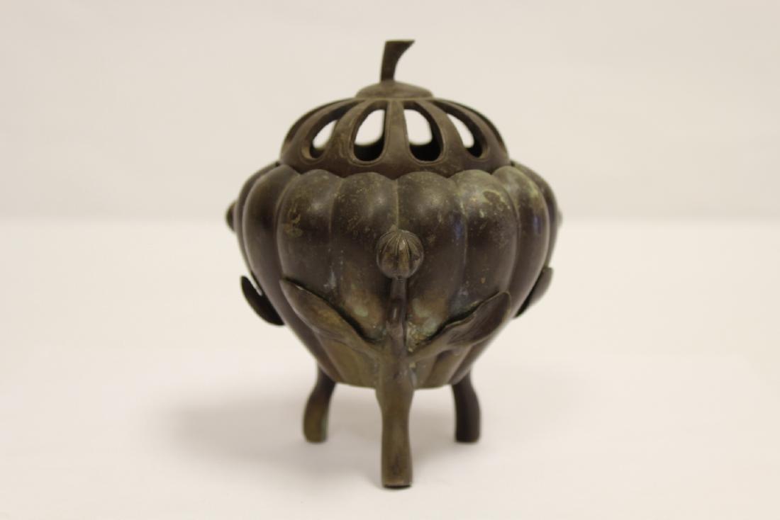 A fine Chinese bronze censer