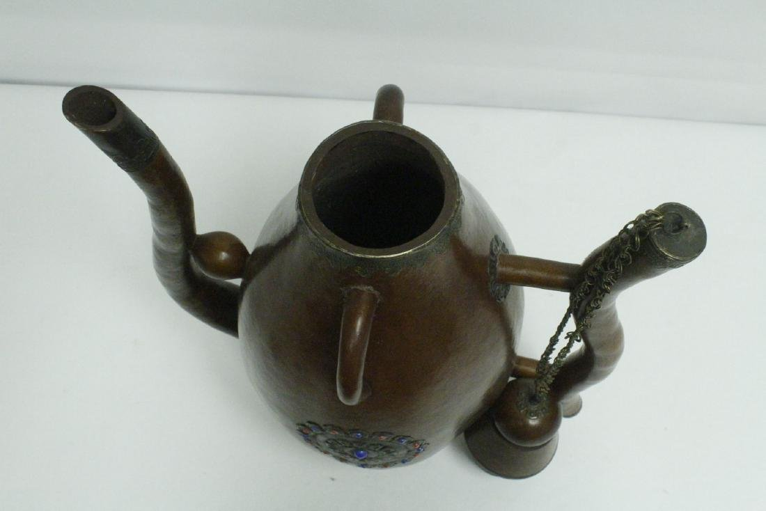A large gourd wine server - 6