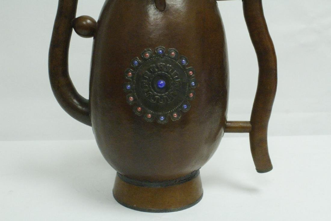A large gourd wine server - 8