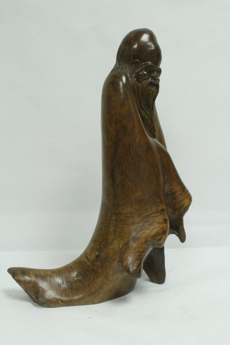 Chinese large huali wood carving - 4
