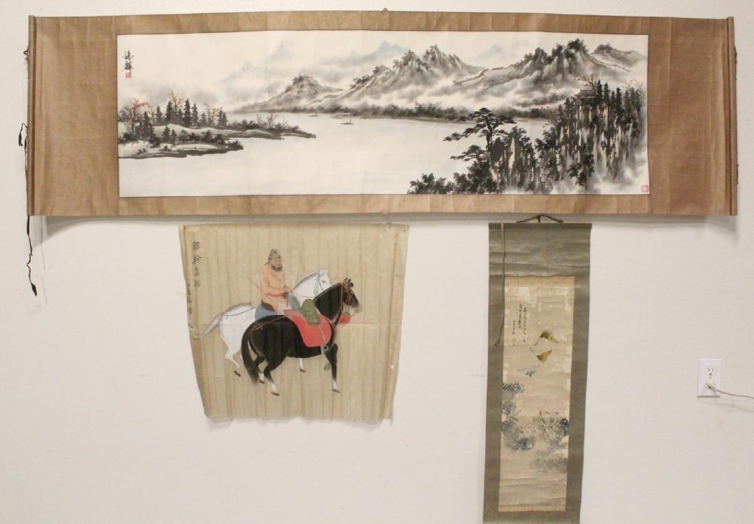 3 Chinese watercolors