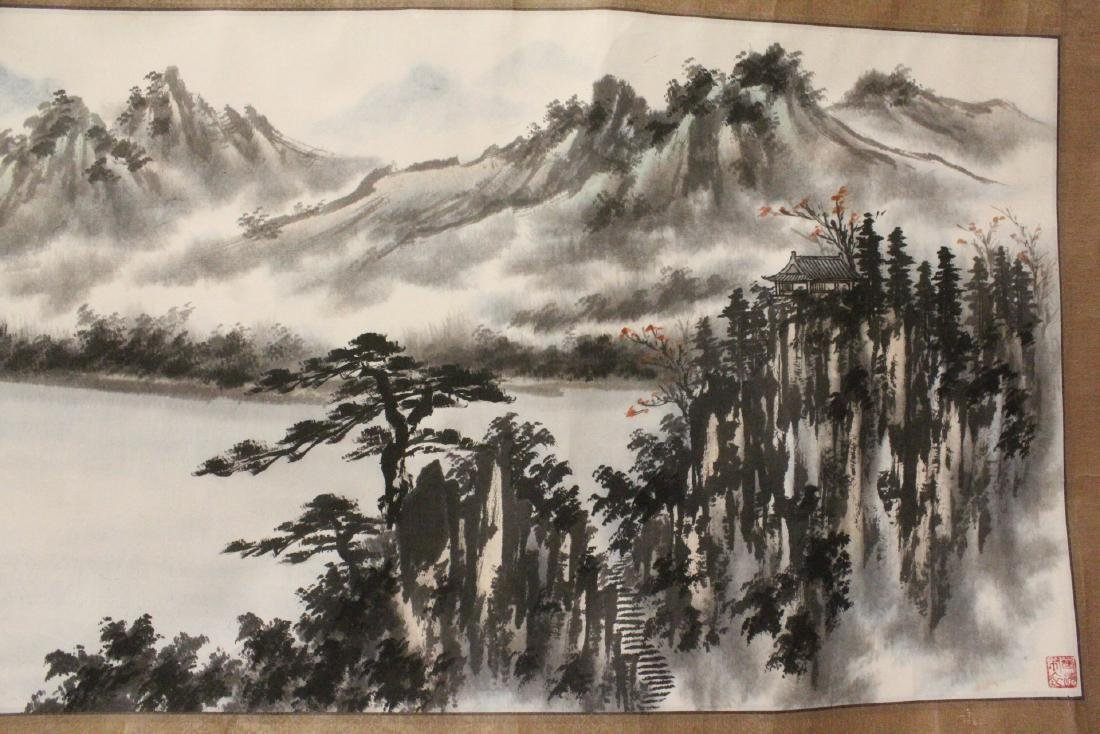 3 Chinese watercolors - 3