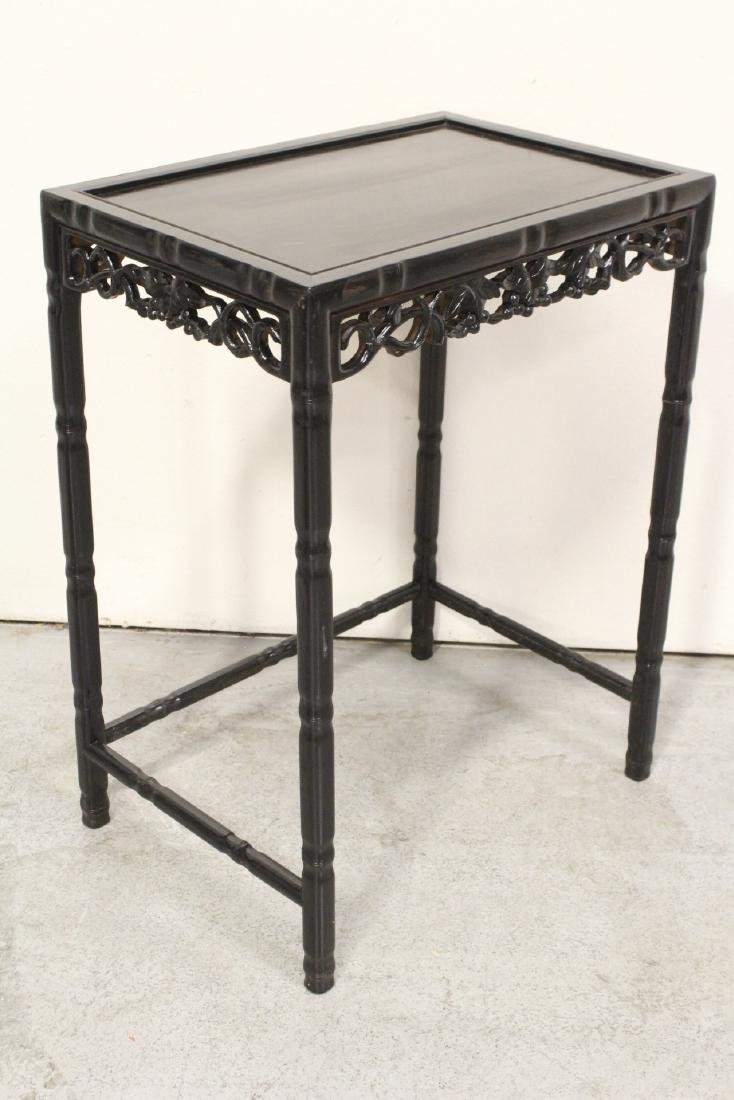 4 Chinese stackable tables - 10