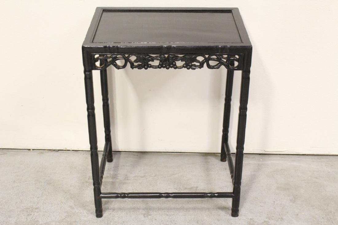 4 Chinese stackable tables - 7