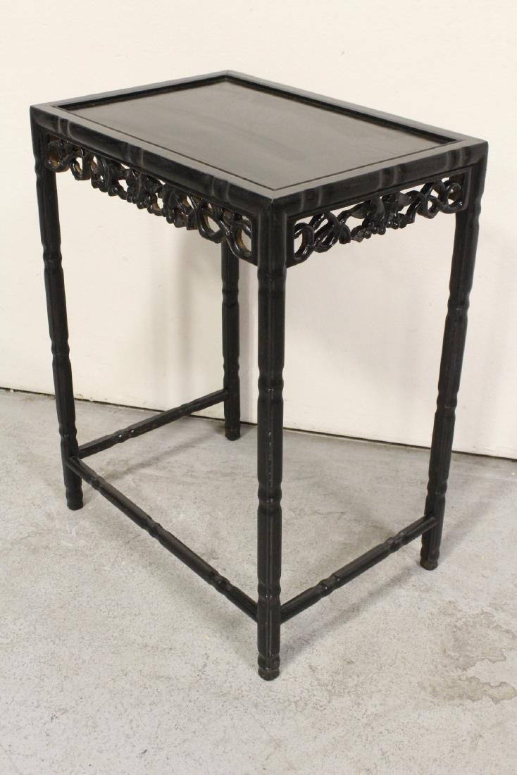4 Chinese stackable tables - 9