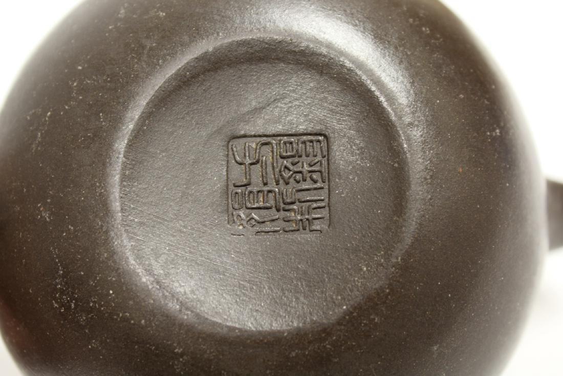 2 Chinese Yixing teapot - 10