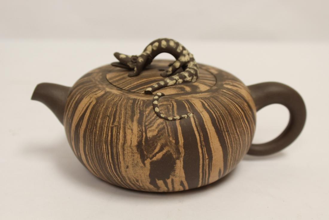 2 Chinese Yixing teapot - 7