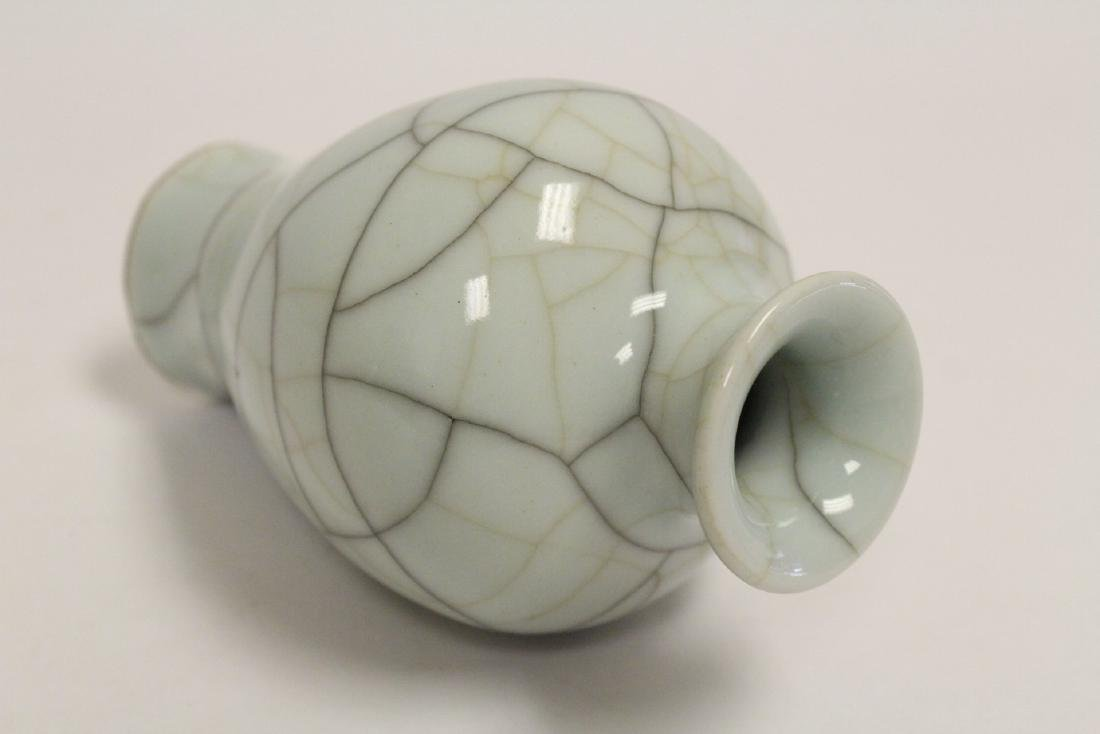 Chinese Song style crackle porcelain vase - 10