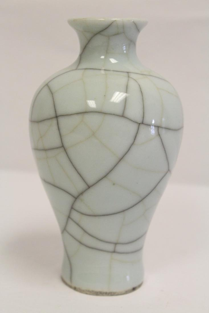 Chinese Song style crackle porcelain vase - 4