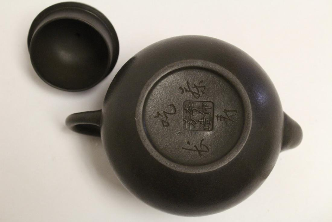 Chinese Yixing teapot - 9