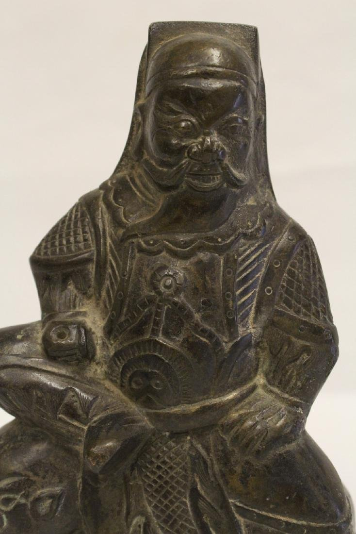 Chinese bronze sculpture of Daoism god - 6