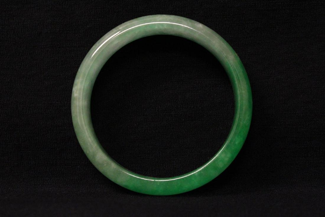 Chinese jadeite like bangle bracelet