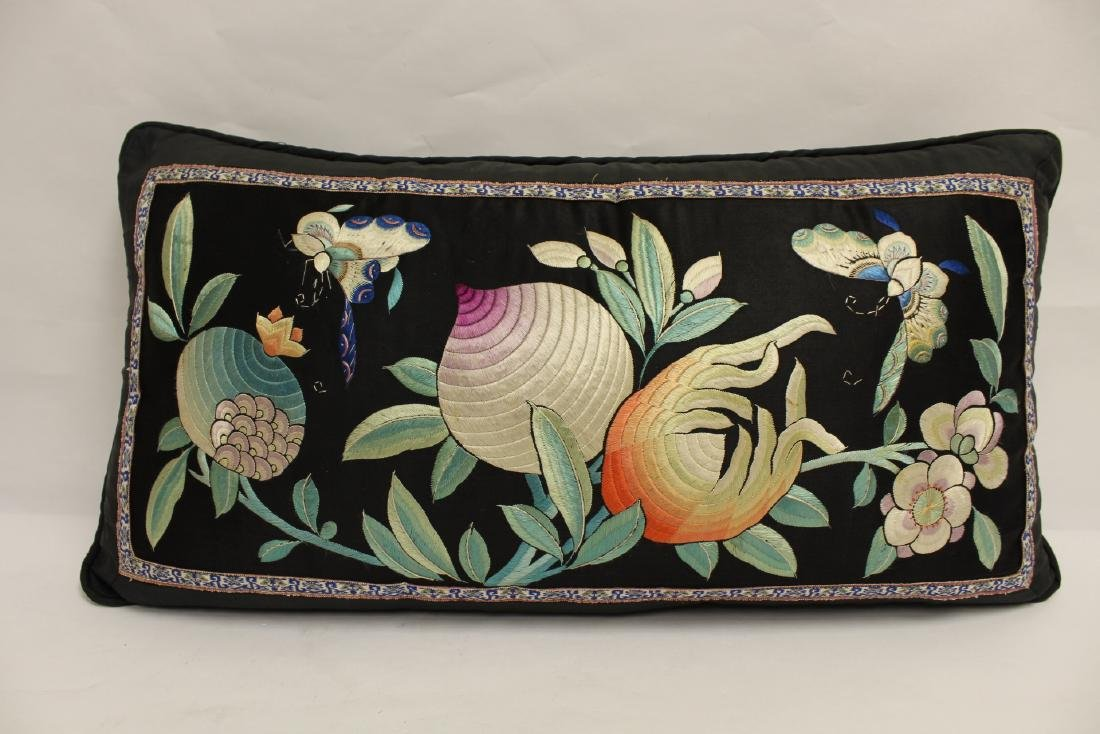 2 Chinese embroidery pillows - 6