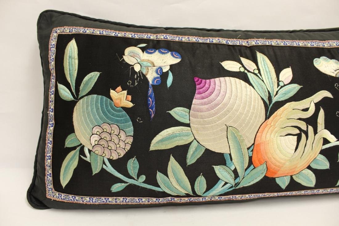 2 Chinese embroidery pillows - 7