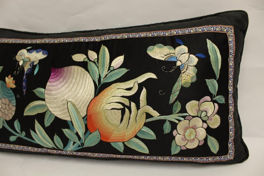 2 Chinese embroidery pillows - 8