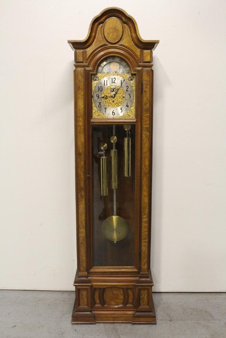 A fine Herschede grandfather clock