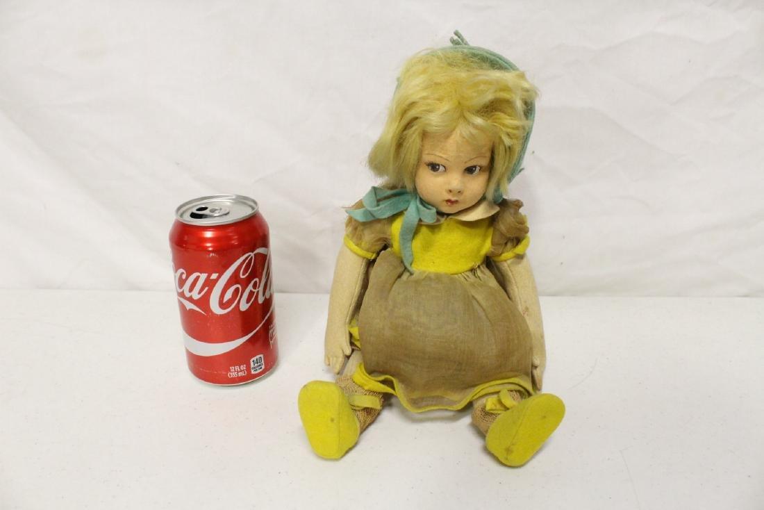 Vintage Italian felt Lenci style doll