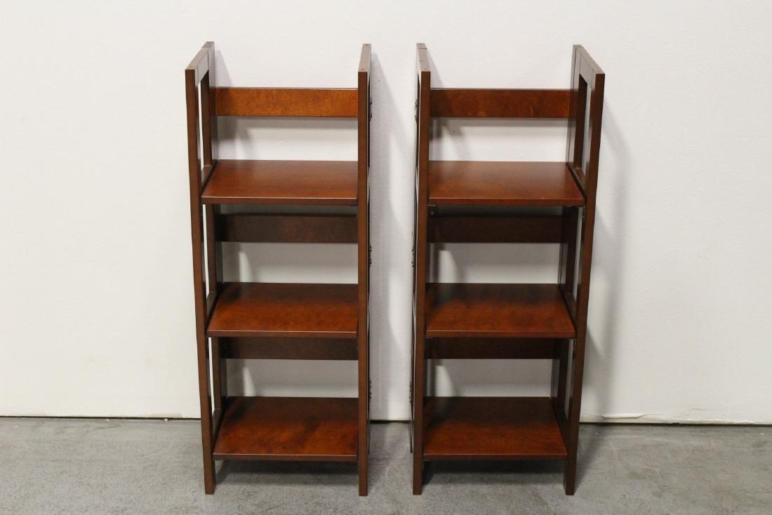 3 folding shelves - 6