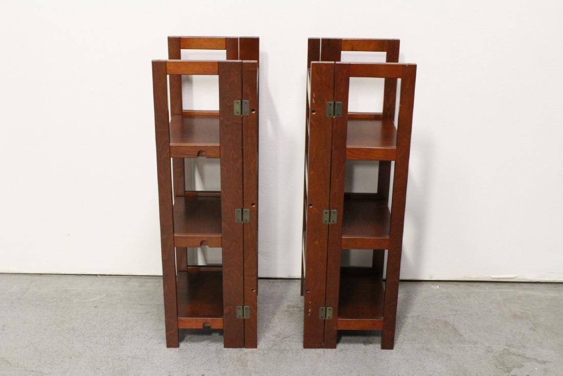 3 folding shelves - 8
