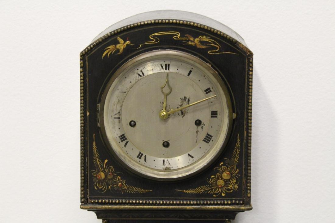 19th/20th century grandmother clock - 2