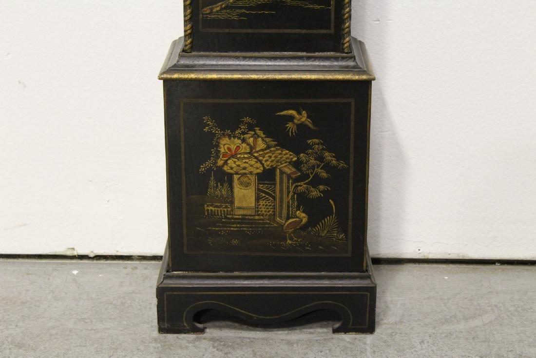 19th/20th century grandmother clock - 4