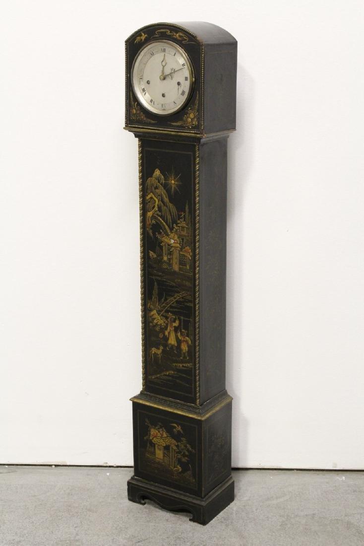 19th/20th century grandmother clock - 5