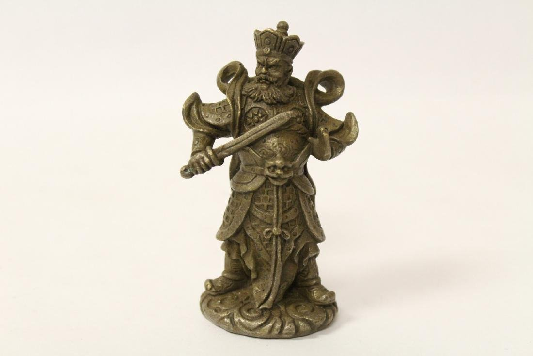 5 Chinese miniature bronze ornaments - 8