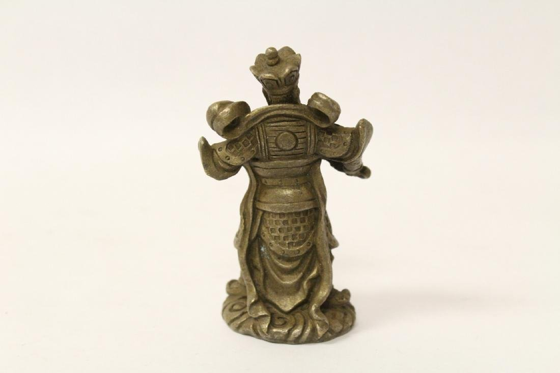5 Chinese miniature bronze ornaments - 9