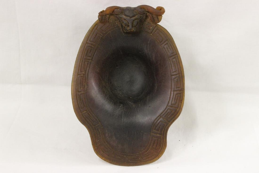 A horn style libation cup - 6