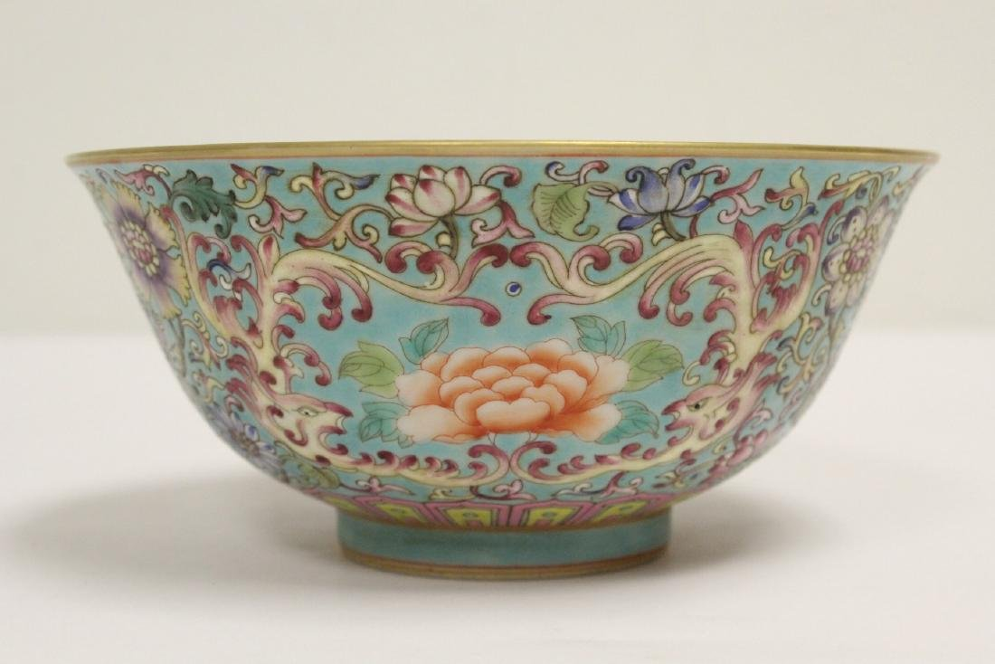 Beautiful Chinese famille rose porcelain bowl