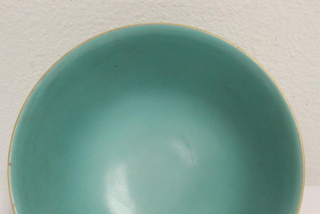 Beautiful Chinese famille rose porcelain bowl - 6