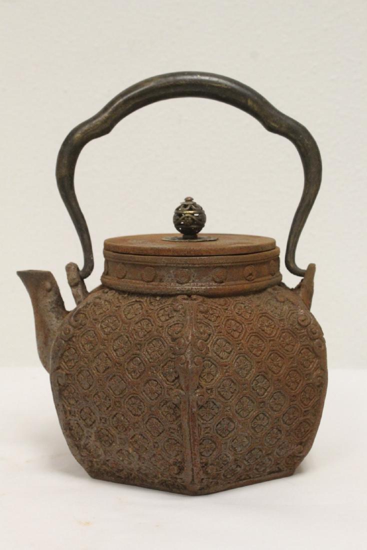 Cast iron teapot - 3