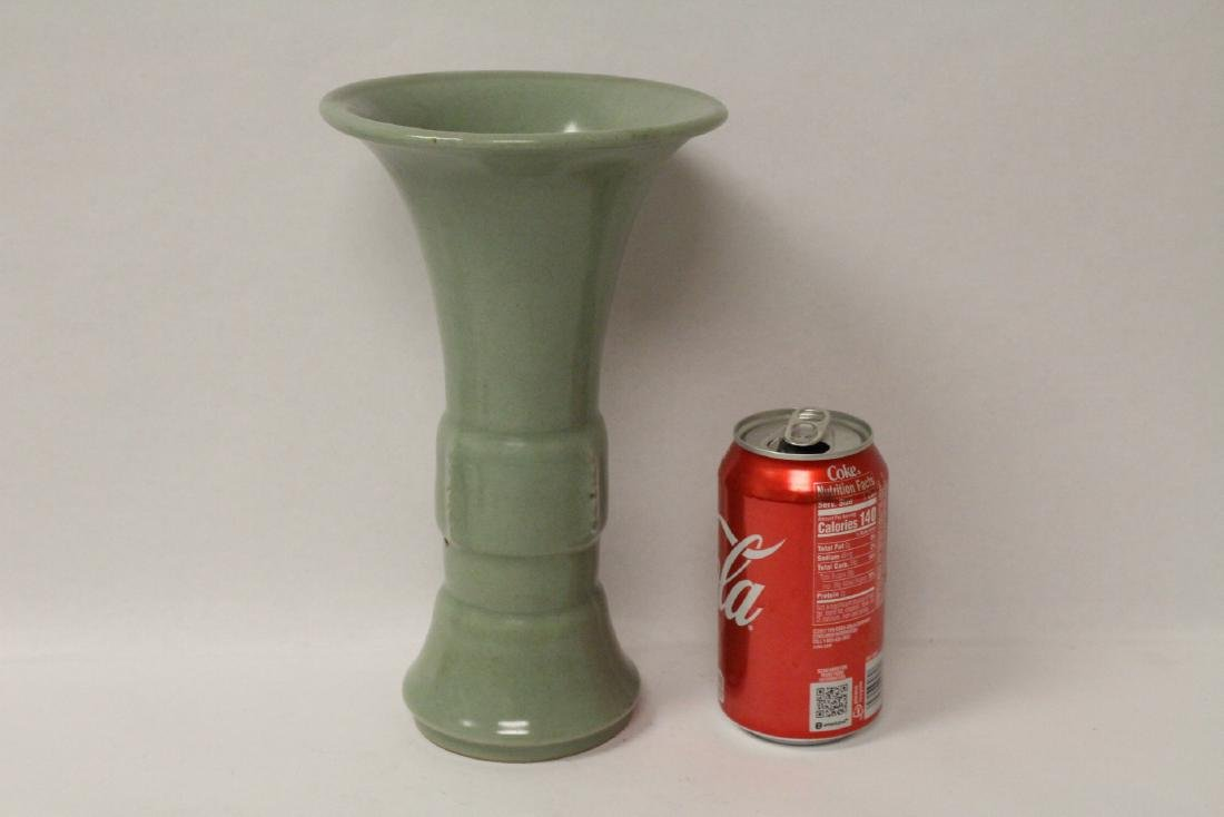 Chinese Song style trumpet vase - 10