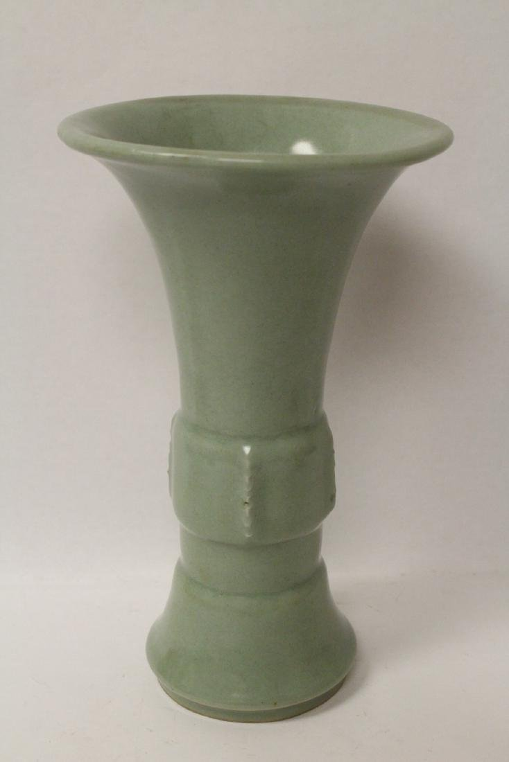 Chinese Song style trumpet vase - 2