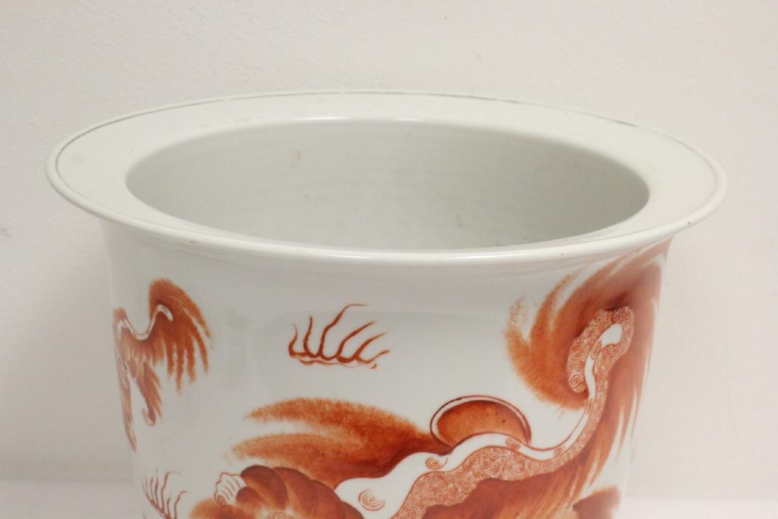 Wucai porcelain planter - 6