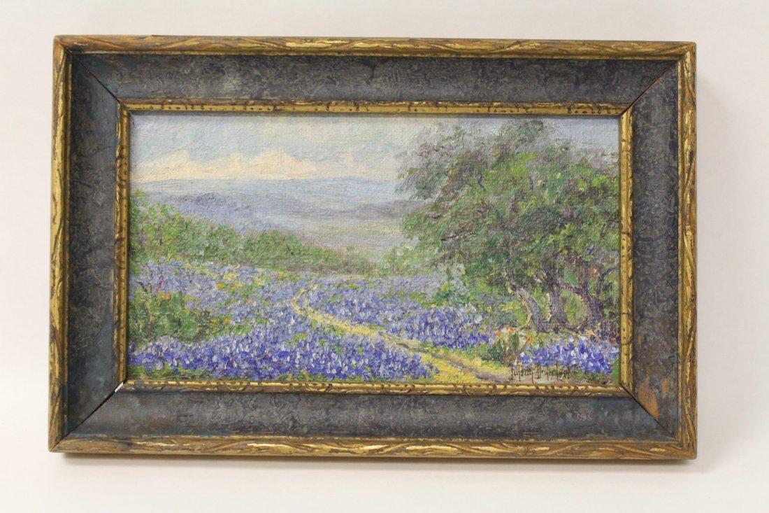 oil on panel painting signed Julian Onderdonk