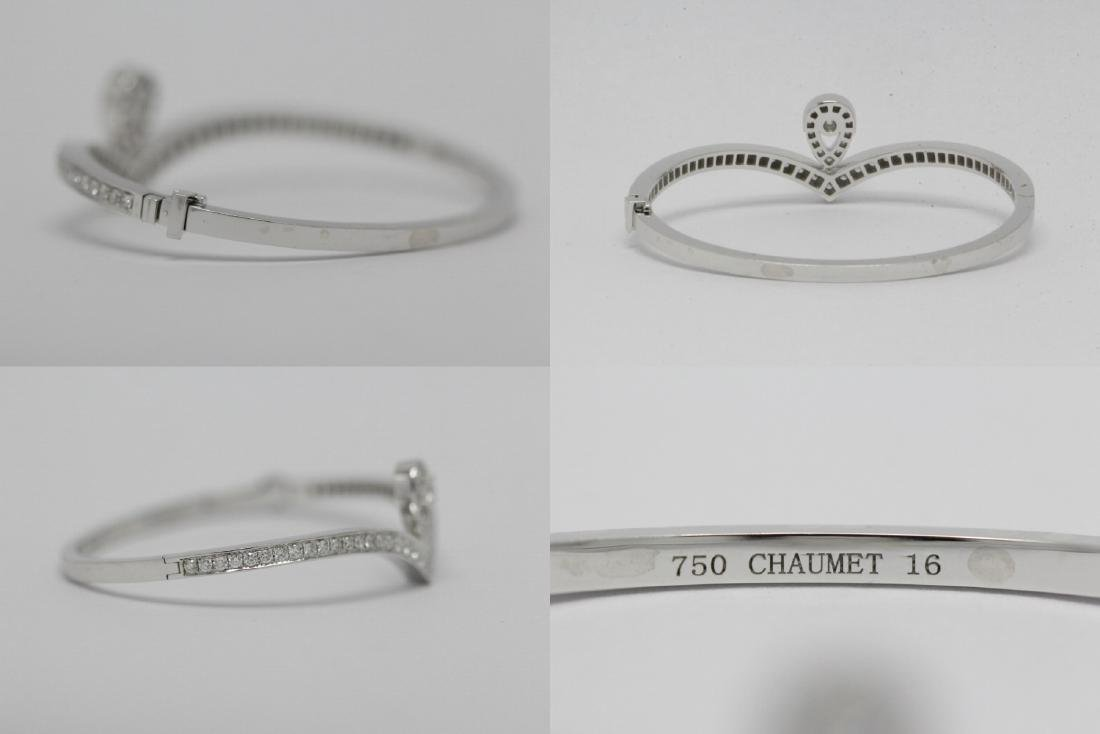 18K W/G diamond bracelet by Chaumet - 10