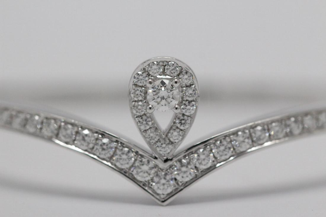 18K W/G diamond bracelet by Chaumet - 2