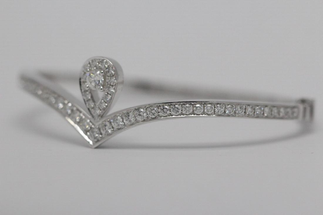 18K W/G diamond bracelet by Chaumet - 3