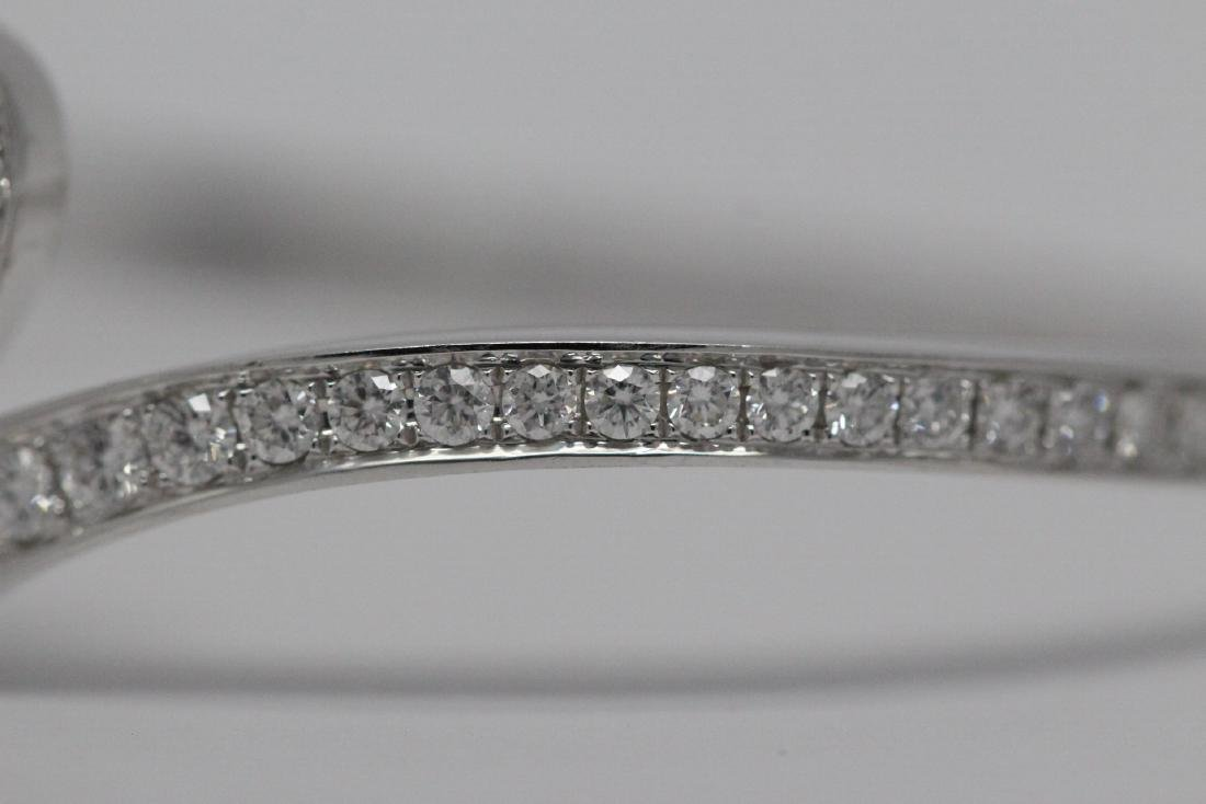 18K W/G diamond bracelet by Chaumet - 4
