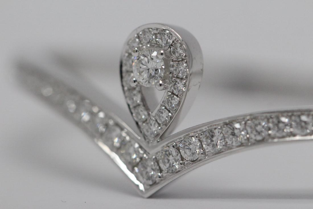18K W/G diamond bracelet by Chaumet - 5
