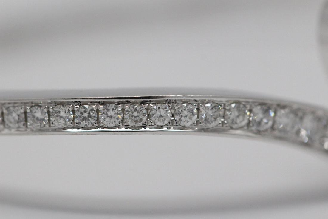 18K W/G diamond bracelet by Chaumet - 6