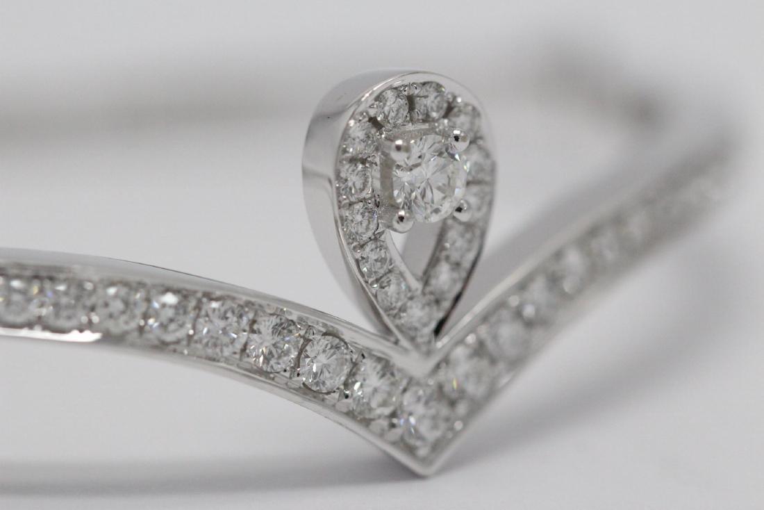 18K W/G diamond bracelet by Chaumet - 7