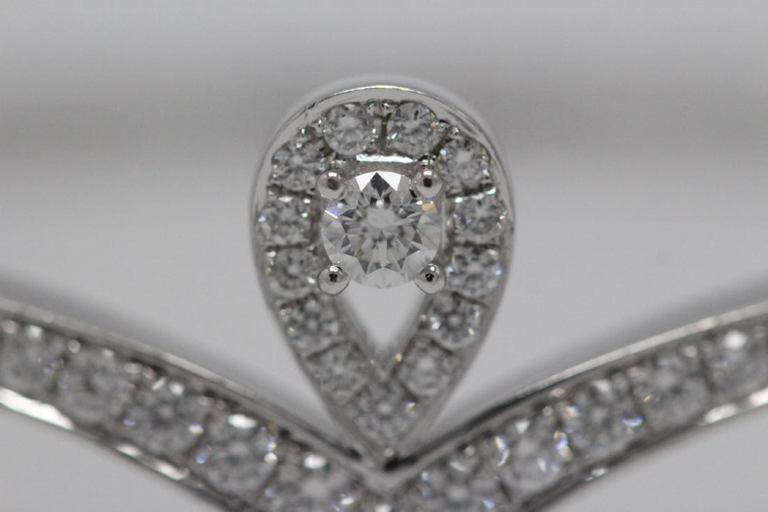 18K W/G diamond bracelet by Chaumet - 8