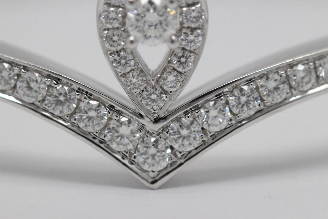 18K W/G diamond bracelet by Chaumet - 9